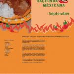 Haçienda Méxicana, Rezeptkalender September
