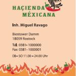 Haçienda Méxicana, Visitenkarte 2