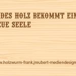 Holzwurm Frank, Visitenkarte Rückseite