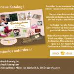 Druck König | Kartenkollektion 2017 Anzeige