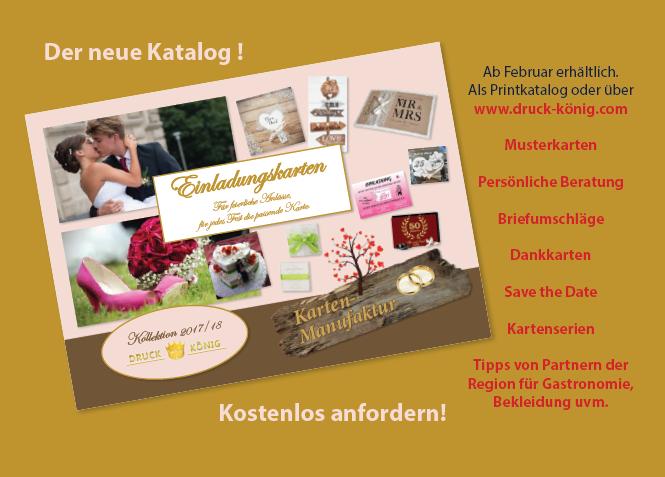 Druck König | Kartenkollektion 2017 Postkarte