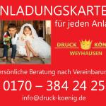 Druck König | Anhängerbanner, 2018