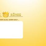 Druck König | Briefumschlag VS