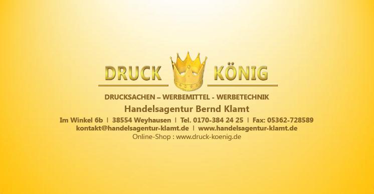Druck König | Briefumschlag RS