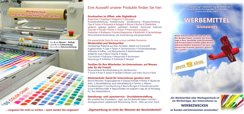 Druck König | Flyer IS 2017 (akt.)
