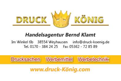 Druck König | Visitenkarte VS 2017 (akt.)