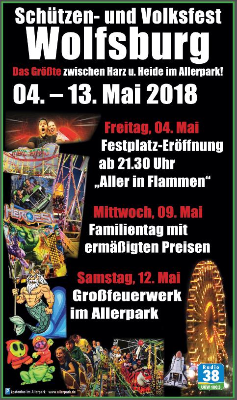 Schützen- und Volksfest Wolfsburg Banner 5