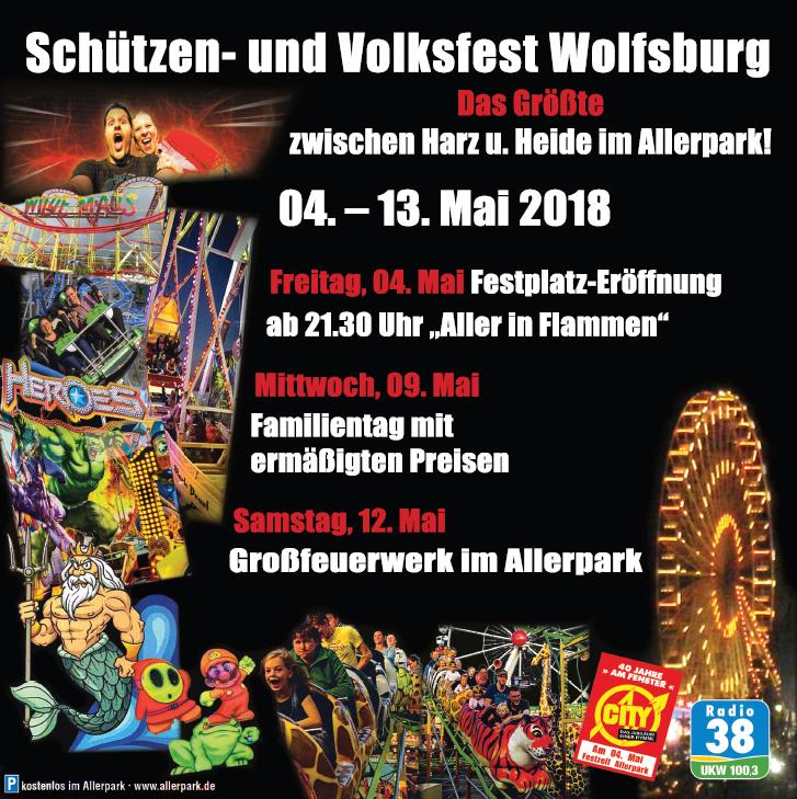 Schützen- und Volksfest Wolfsburg Banner 4