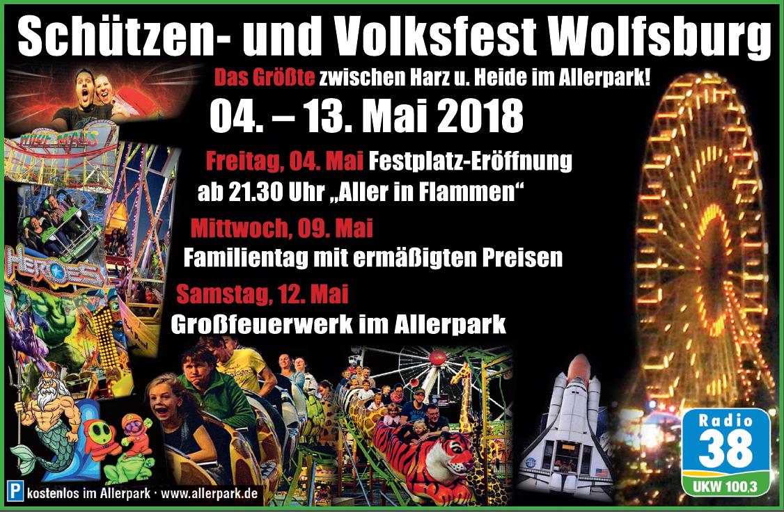 Schützen- und Volksfest Wolfsburg Banner 3