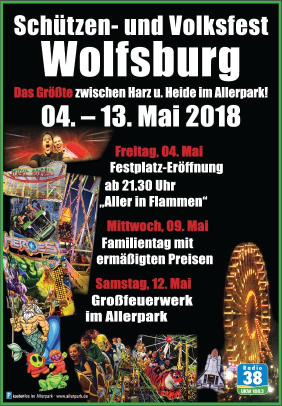 Schützen- und Volksfest Wolfsburg Banner 2