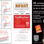 """Schützen- und Volksfest Wolfsburg, Flyer """"Festessen"""" AS"""