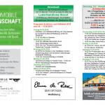 """Schützen- und Volksfest Wolfsburg, Flyer """"Programm"""" IS"""