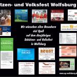 Schützen- und Volksfest Wolfsburg, Banner mit Sponsoren