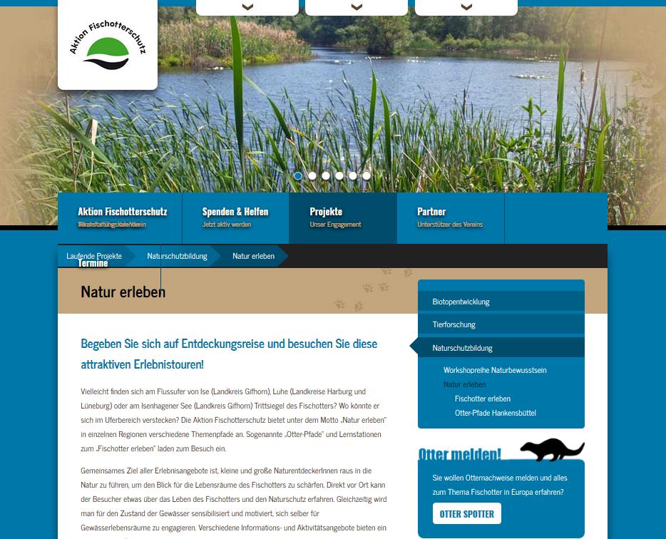 Aktion Fischotterschutz - Projekte