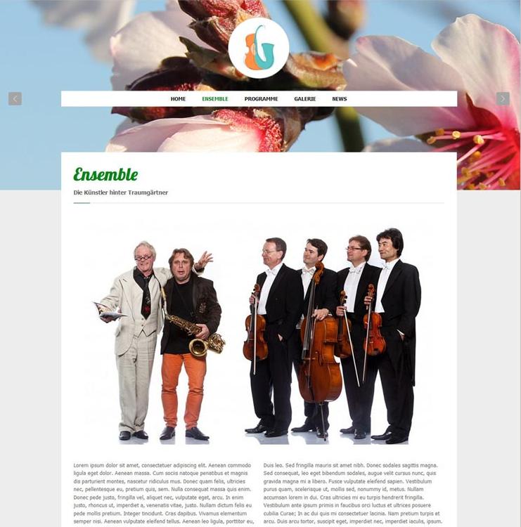 Website Traumgärtner