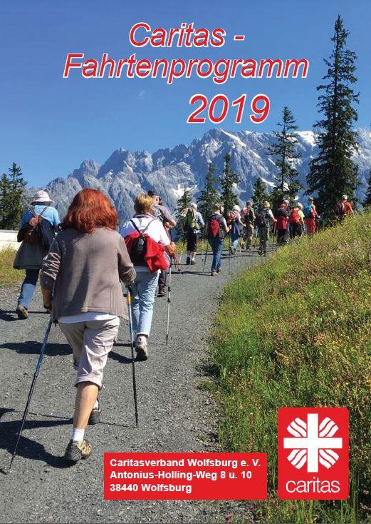 Caritas Programm Titelseite
