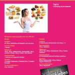 Mrs. Sporty Plakat A4 Programm Teil 4 VS