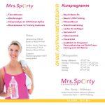 Mrs. Sporty Flyer DIN Lang zweiseitig innen