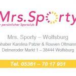 Mrs. Sporty Visitenkarte VS