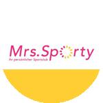 """Beitrag """"Mrs. Sporty"""""""
