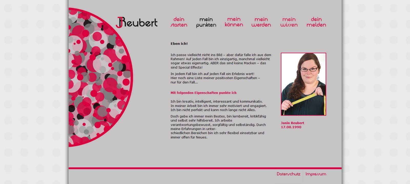 Website JReubert alt Ich