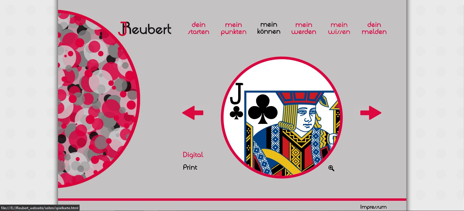 Website JReubert alt Portfolio Print Vorschau