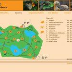 Wildpark Bibach - Touren