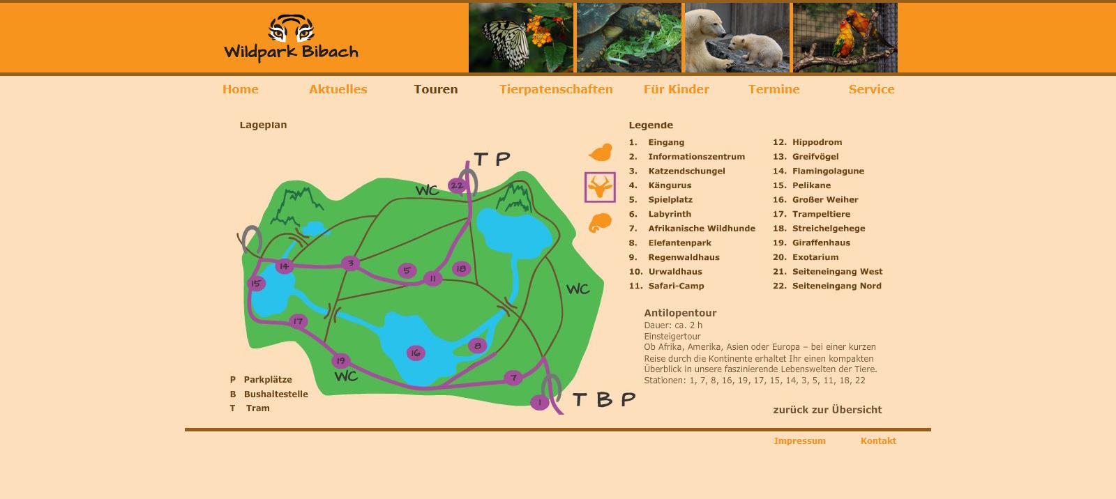 Wildpark Bibach - Antilopentour
