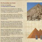 Die Pyramiden von Gizeh - Der Bau der Pyramiden