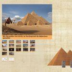 Die Pyramiden von Gizeh - Die Galerie der Pyramiden
