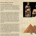 Die Pyramiden von Gizeh - Cheops - Leben
