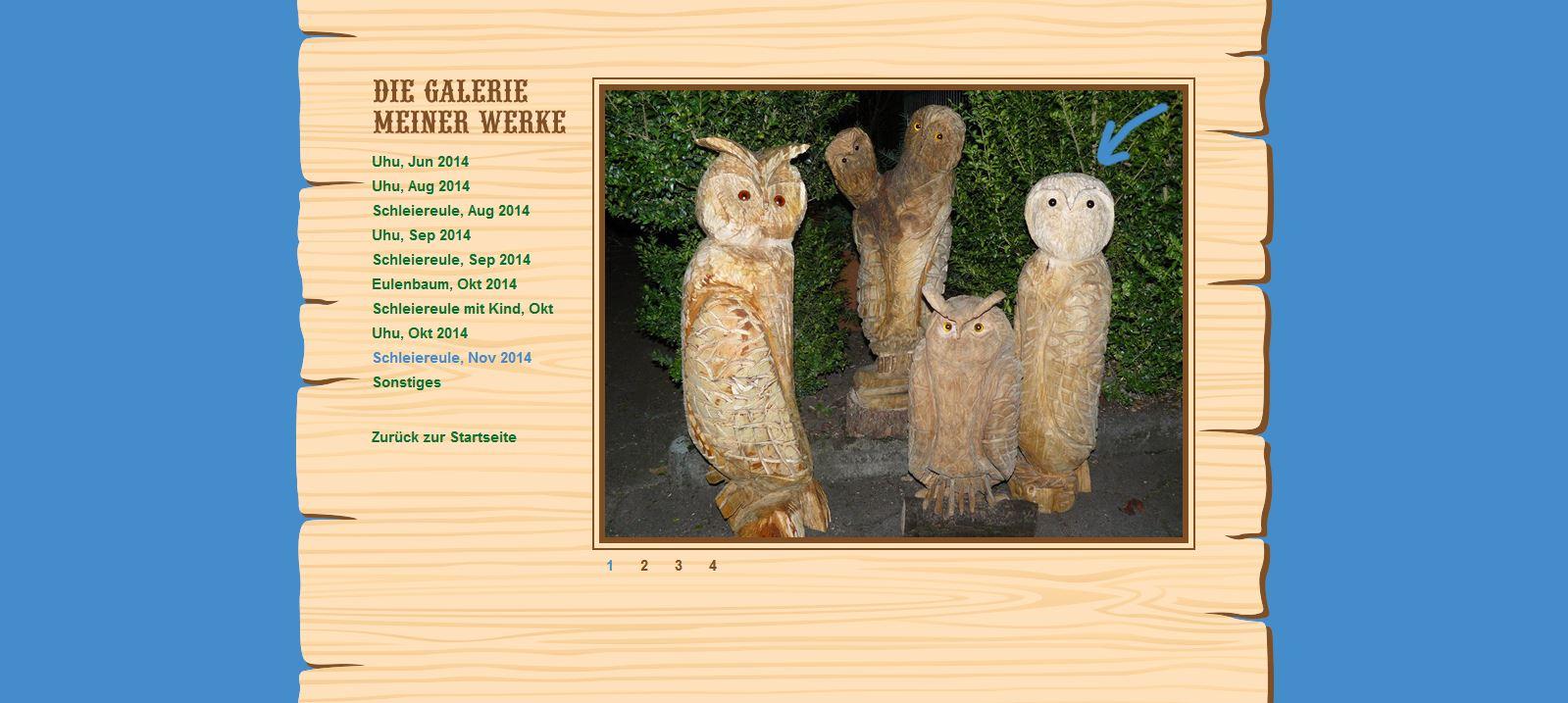 Website Holzwurm Frank Galerie Beispiel 3