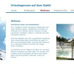 Website Riefstein Wellness